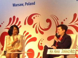 Olga Gil, Dr Olga Gil Warsawa Global Summit 2016
